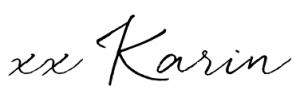 signature xx Karin