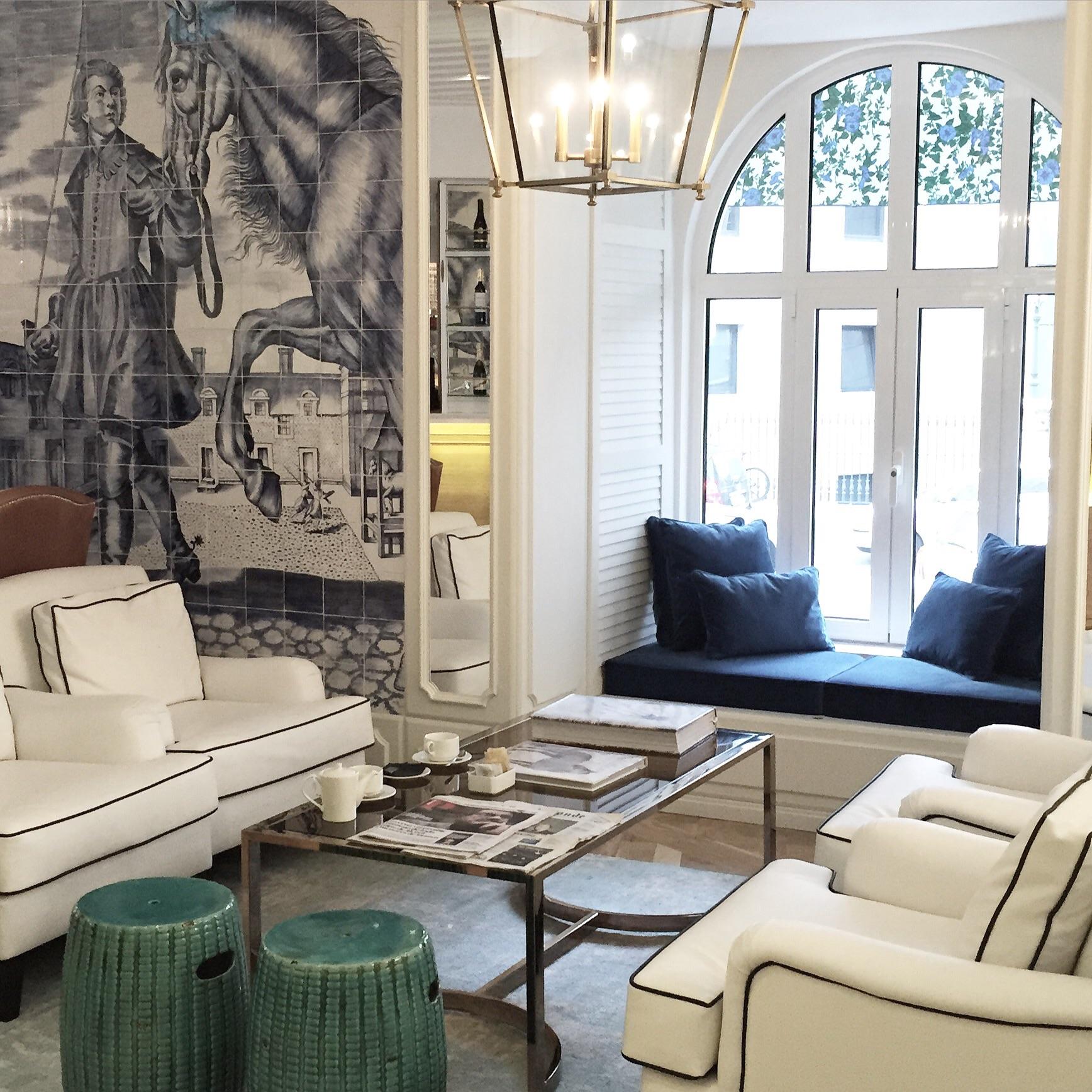 New in lisbon design hotel duque de loul chapter for Hotel design lisbona