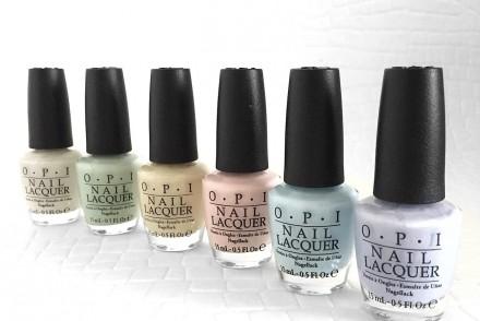 OPI Nail lacquer soft shades pastels