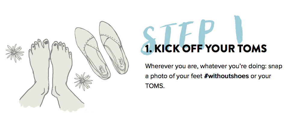 Pics For > Toms Shoes Logo One For One