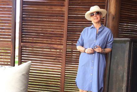 MUJI shirt dress