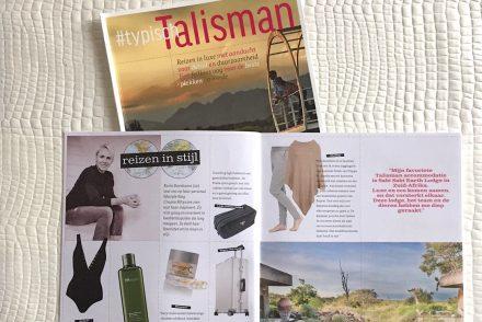 Talisman Magazine Karin Barnhoorn