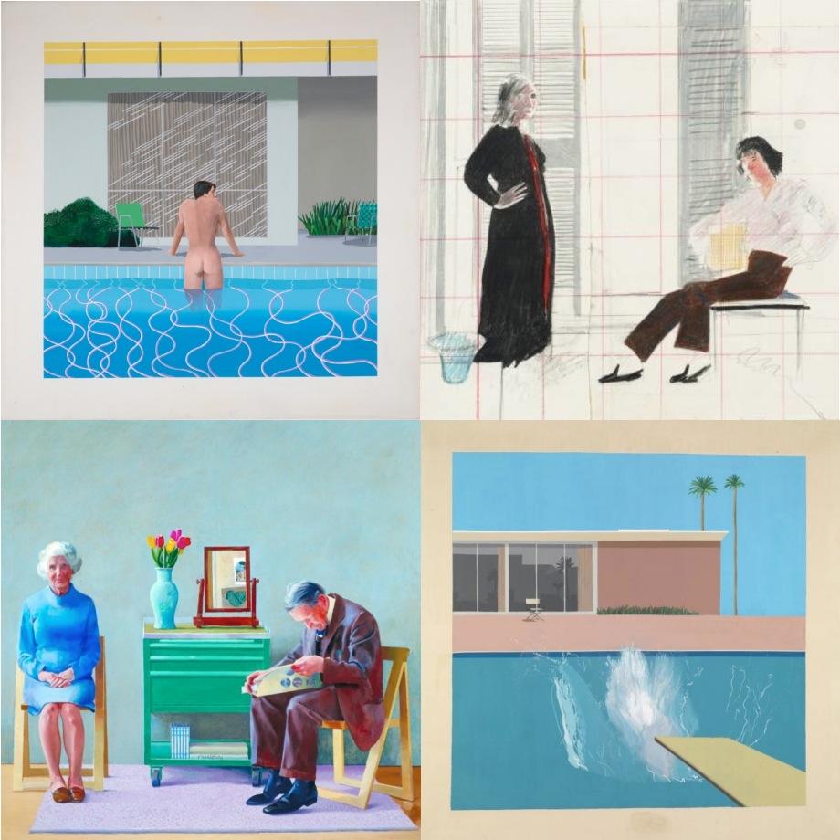 David Hockney A Bigger Splash