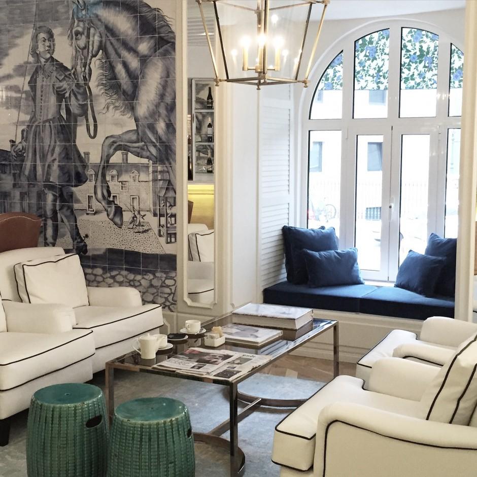New in lisbon design hotel duque de loul chapter for Design hotel portugal