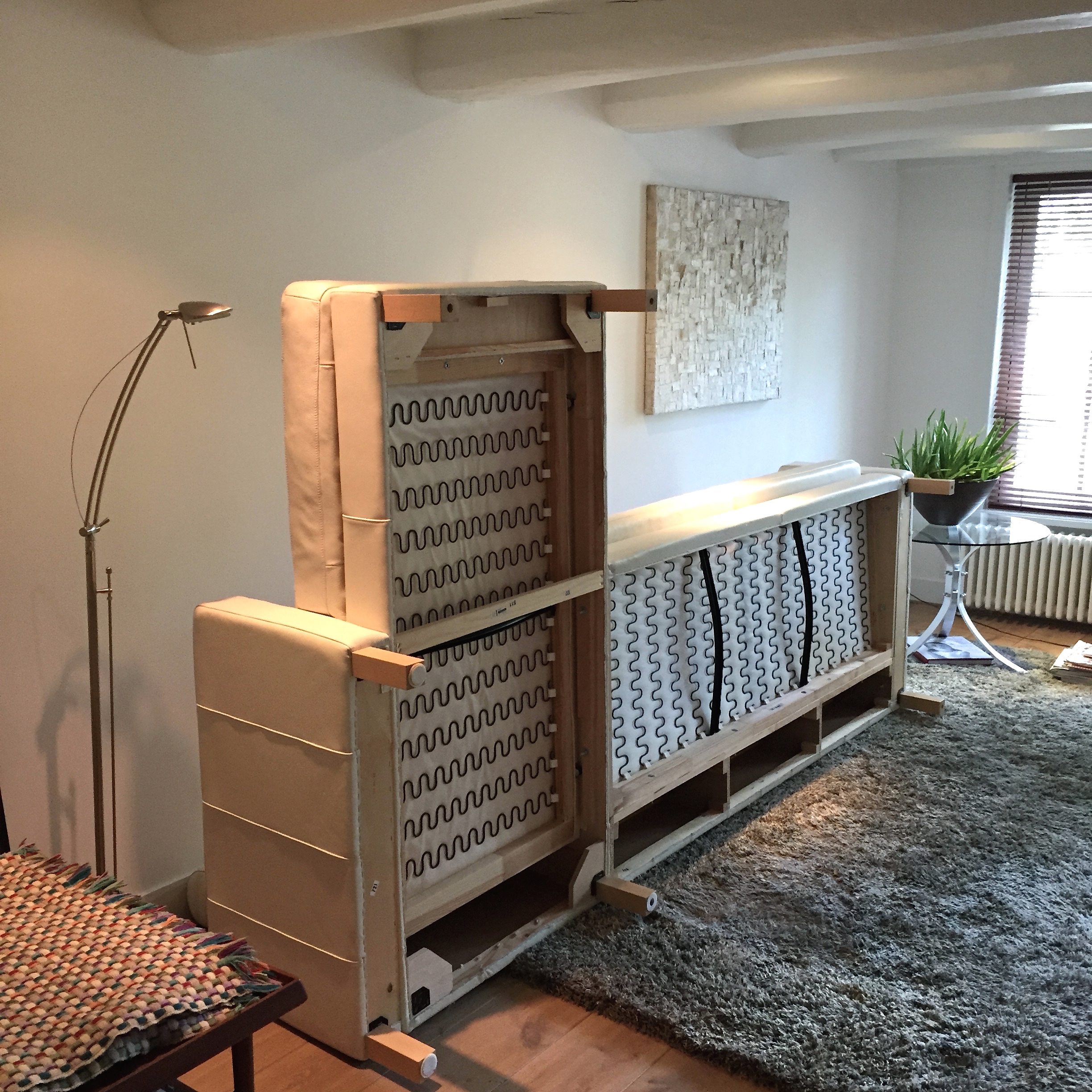 Stylish New Legs Ikea Couch Make Over With Pretty Pegs