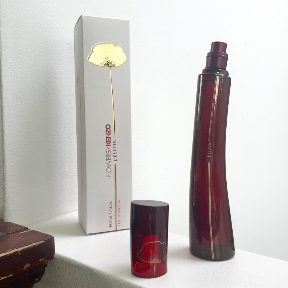 Kenzo Flower By L Elixir Eau De Parfum Spray 50ml Flowers Woman Edt 100 Ml Original Free Vial Chapter Fifty Style Beauty Bottle Elixir3 Gift Set