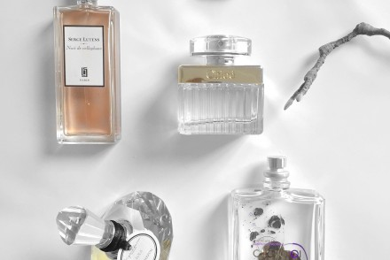 My 4 new fragrances, Serge Lutens, Chloé, Molecule01 and Signature Lola.