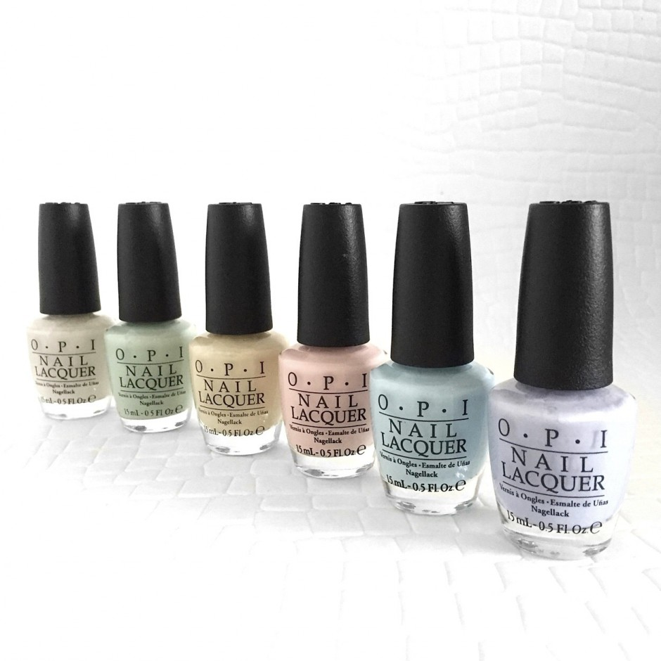 Spring nails! New OPI Soft Shades pastels. - Chapter FiftyChapter Fifty