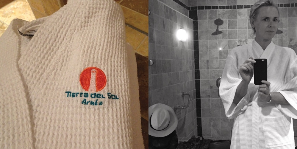 Spa bathrobe Tierra del SOl Aruba