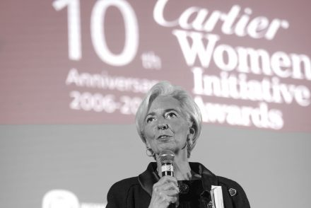 Cartier Women's Initiative Awards Christine Lagarde