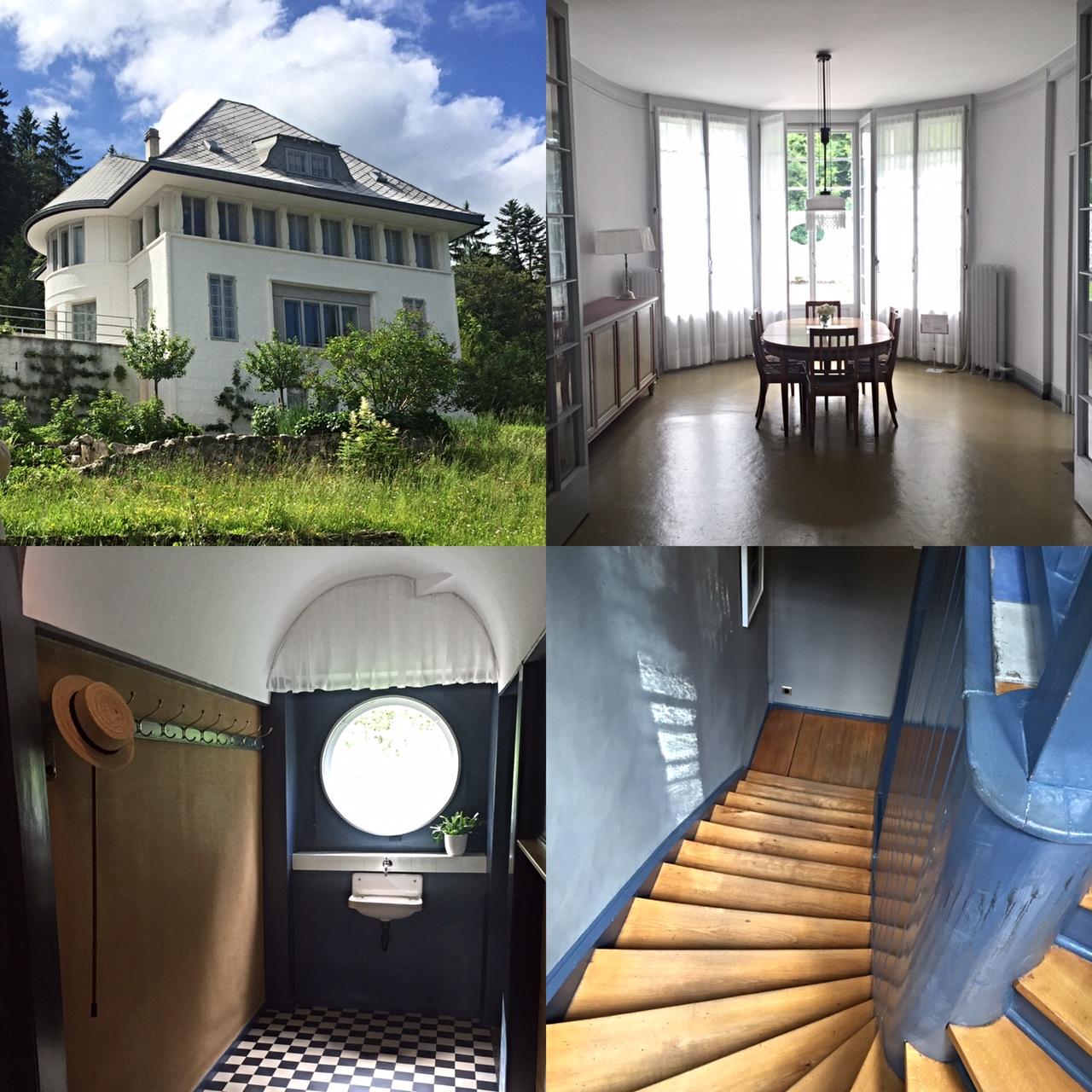 Grand tour of switzerland day 4 la chaux de fonds for A la maison blanche