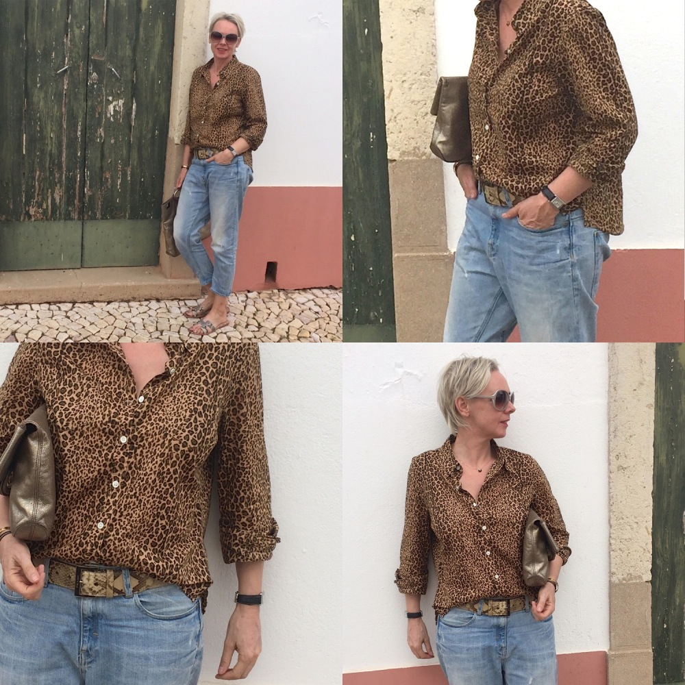 onepieceamonth investment no 10 vintage leopard shirt