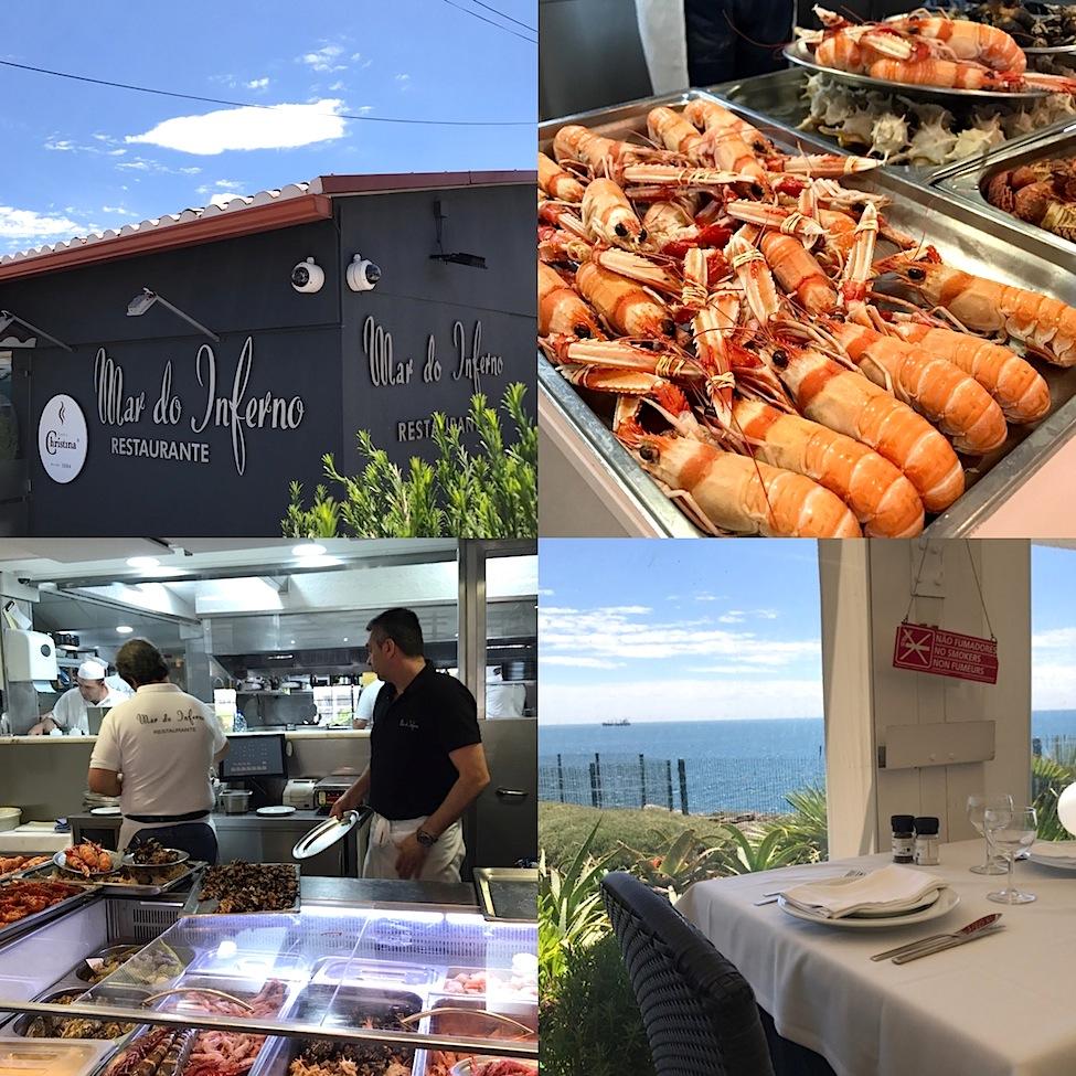Cascais Mar Do Inferno restaurant