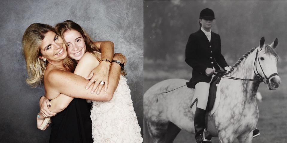 Helene Hoogeboom horseback riding