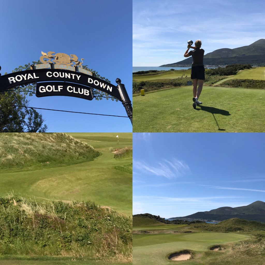 Irish Links Golf Royal COunty Down