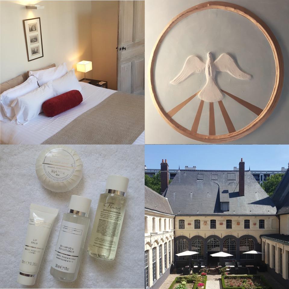 L Hermitage Gantois hotel in Lille