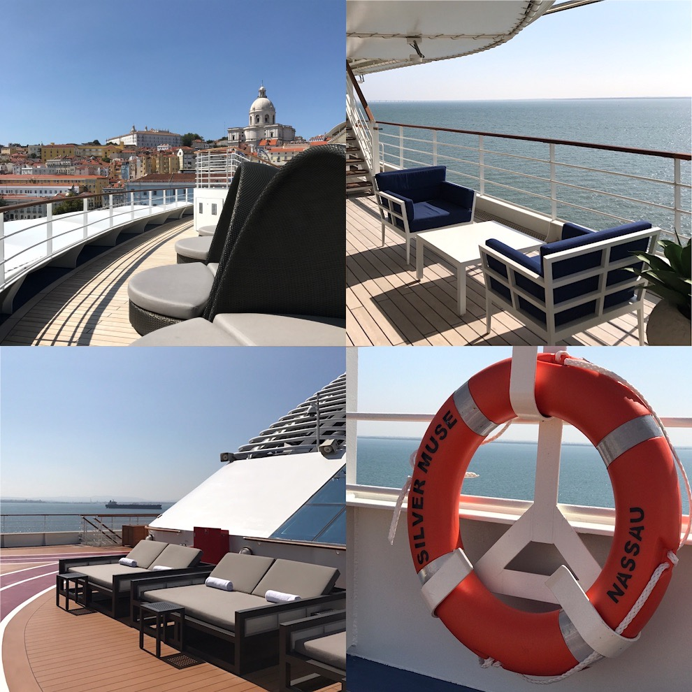 Silver Muse cruise Ship deck