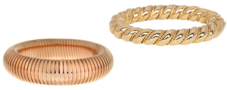 Bodes Bode golden bracelets