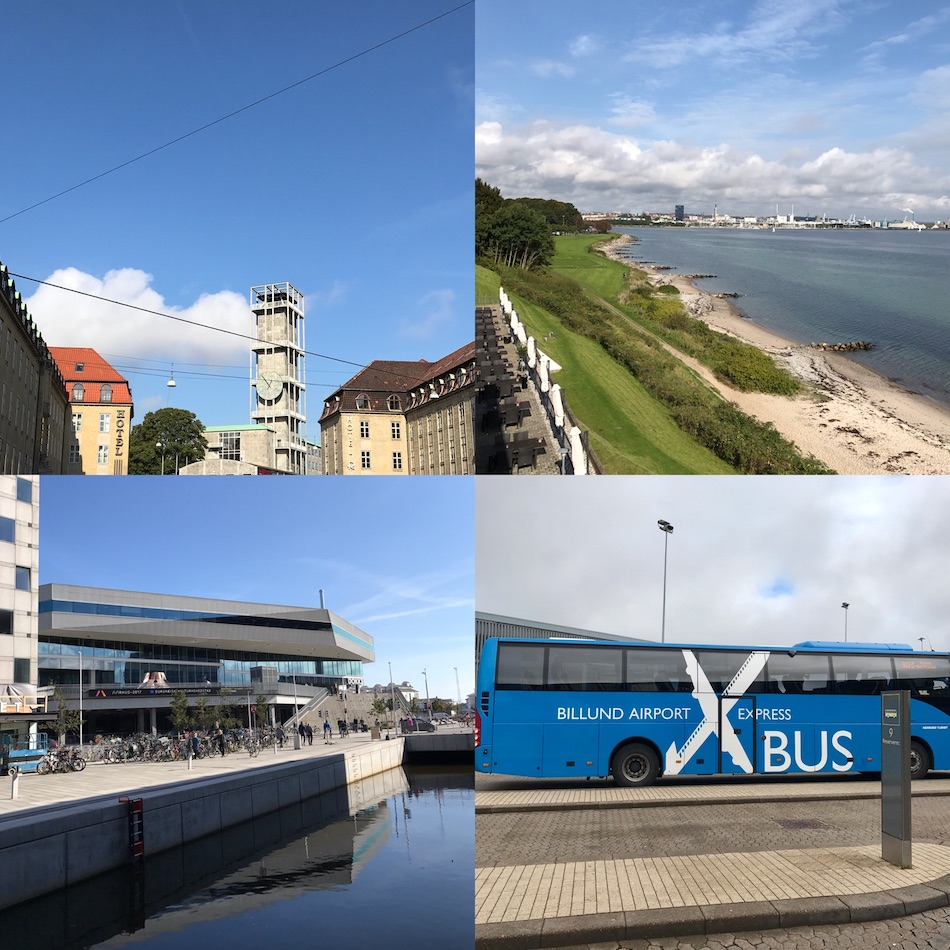 Aarhus city Denmark