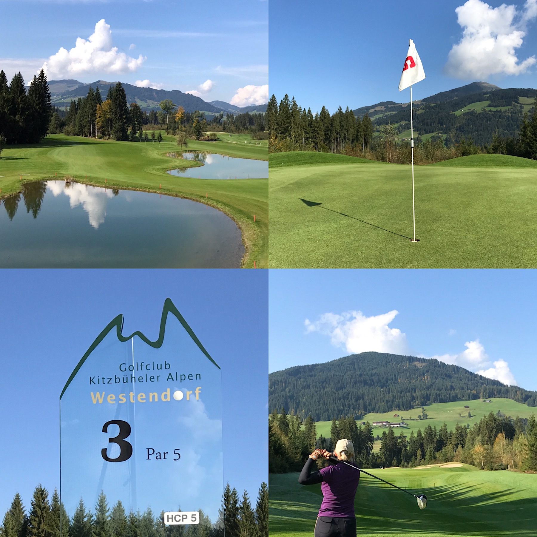 Kitzbuheler Alpen golf course westendorf