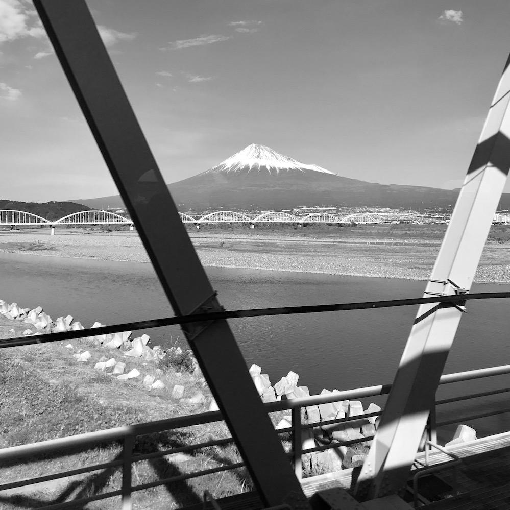 shinkansen mount fuji