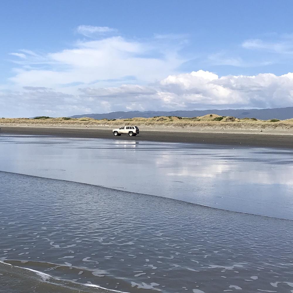 new zealand kapiti coast beach