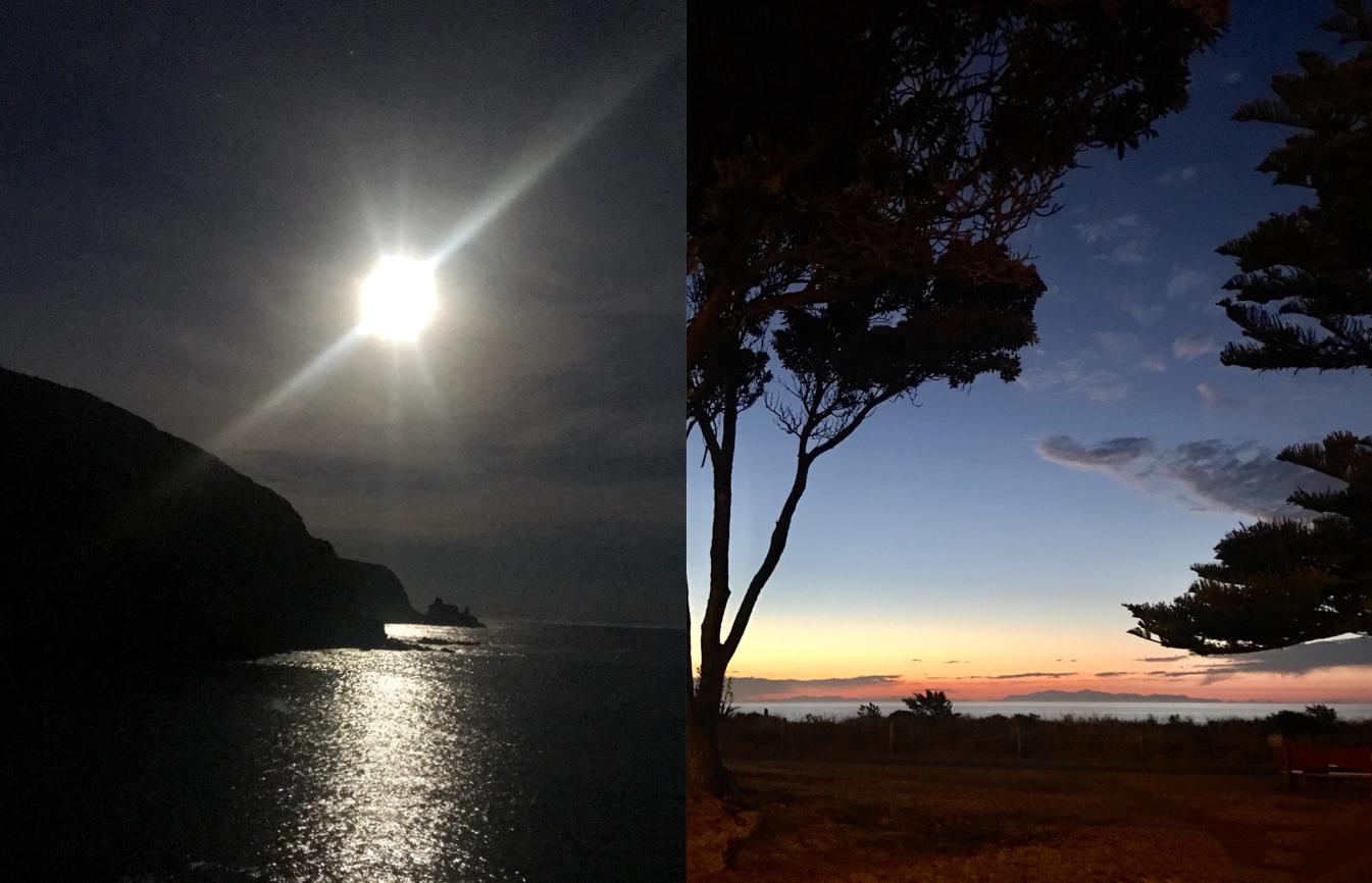 new zealand nature super moon