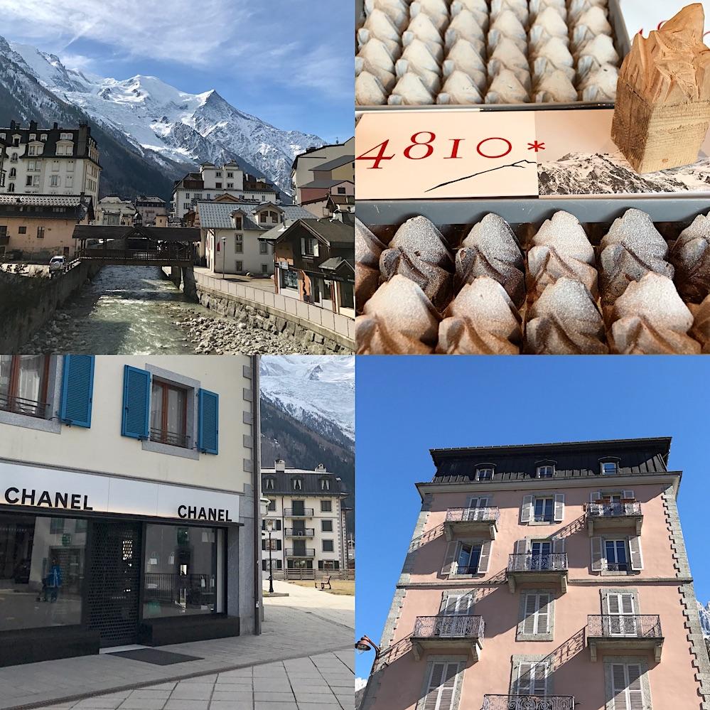 savoie mont blanc Chamonix town