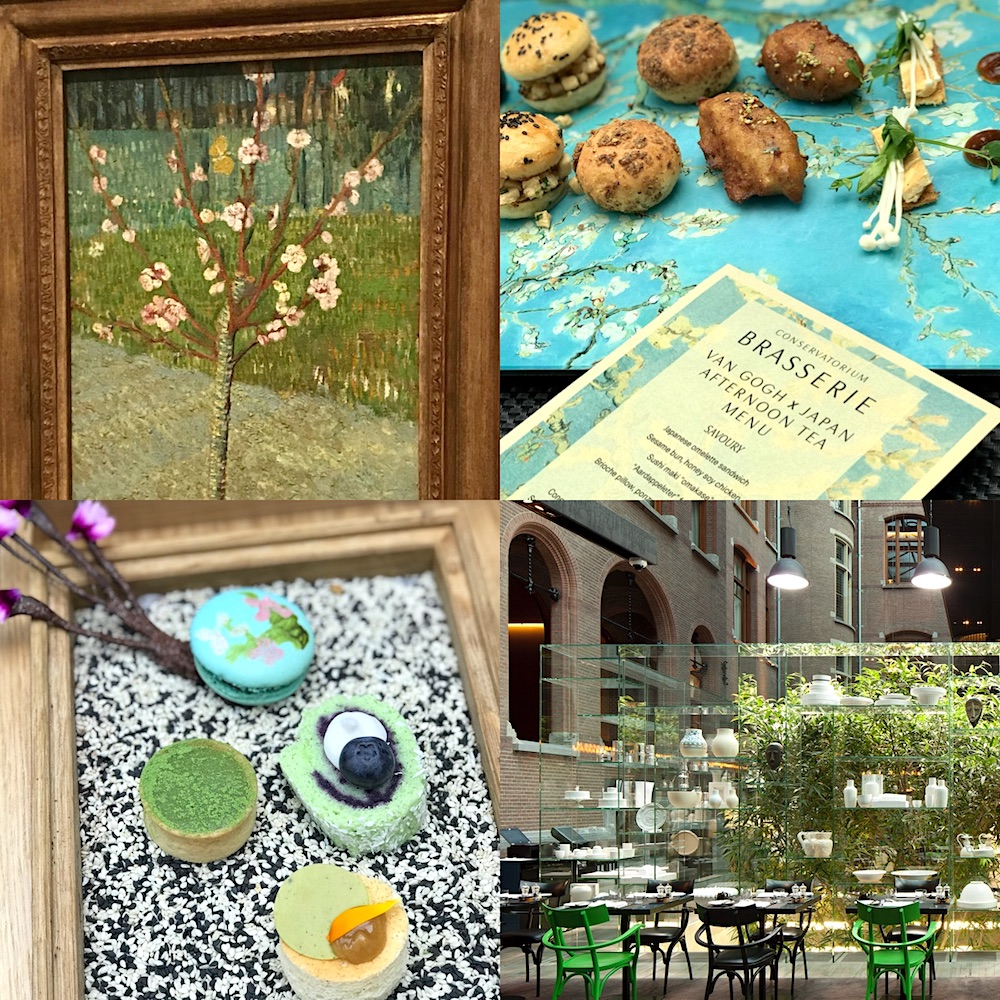 Van Gogh x Japan afternoon tea