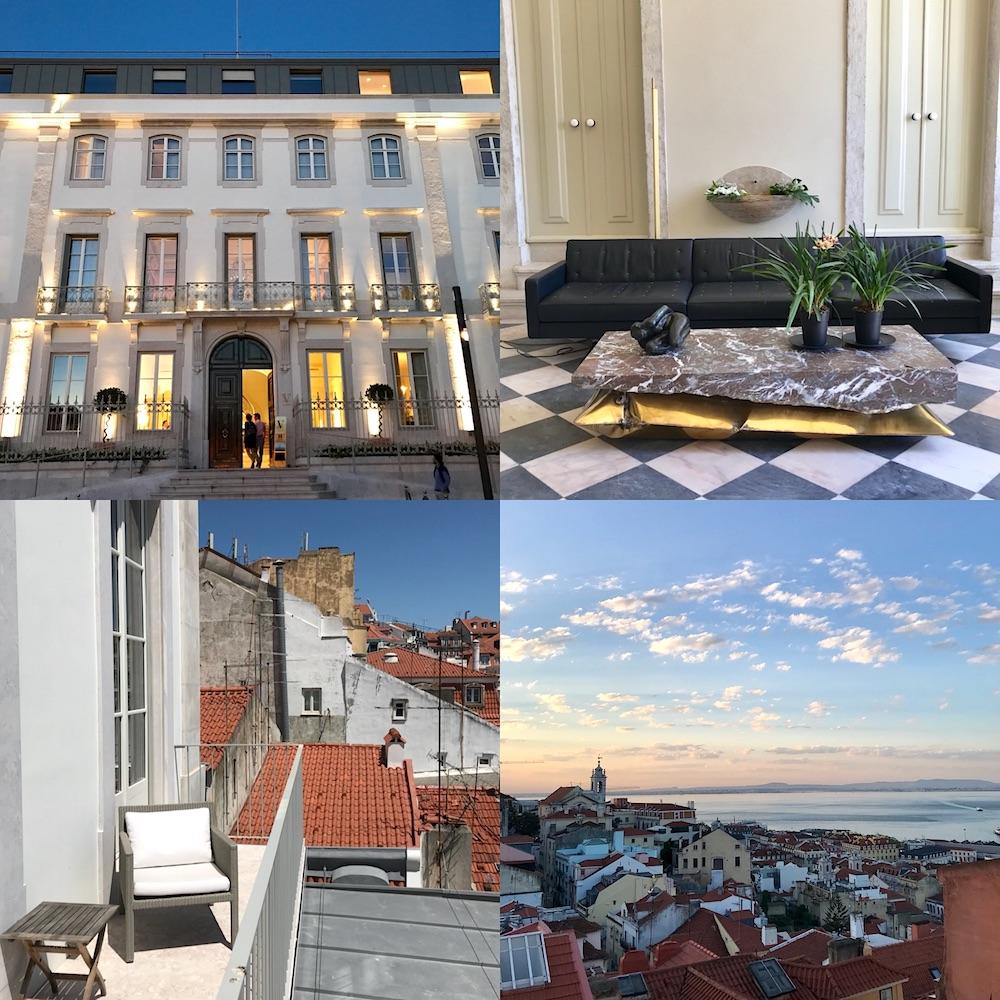 Verride Palacio Santa Catarina luxury hotel lisbon