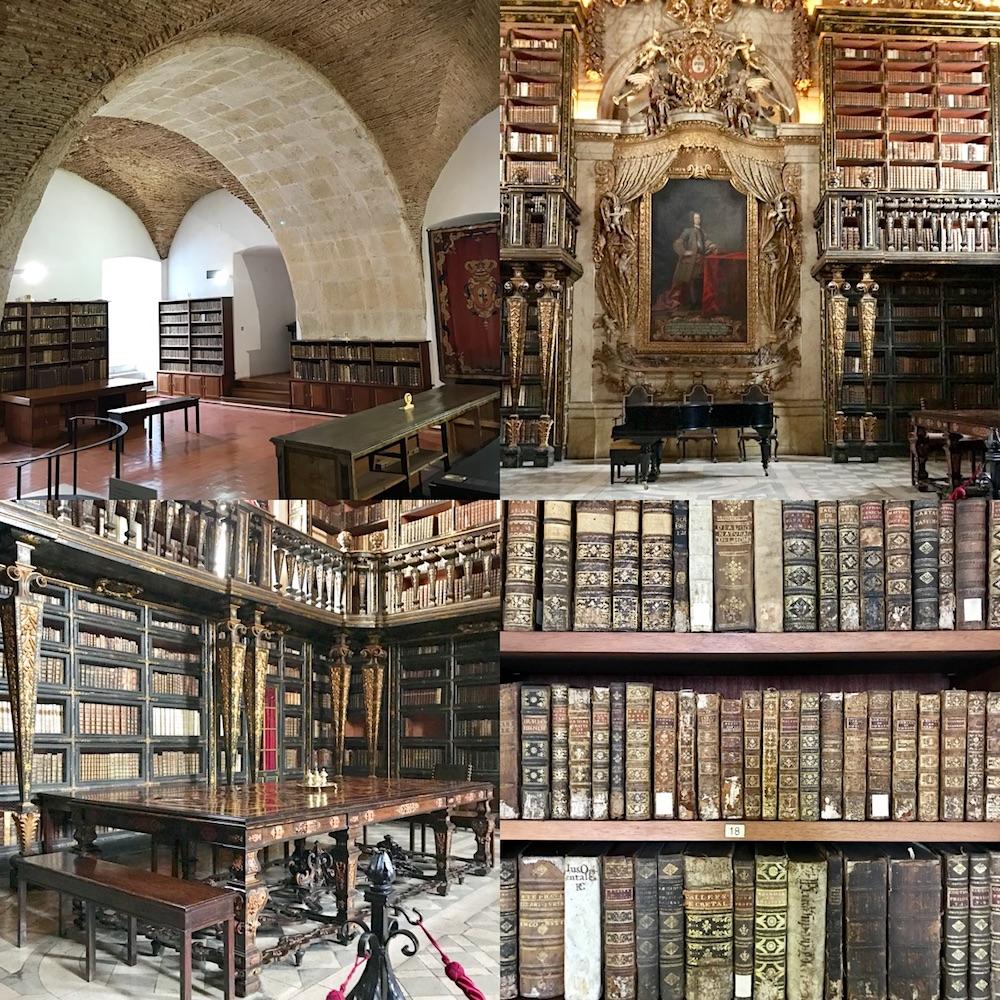 Coimbra Joanina library