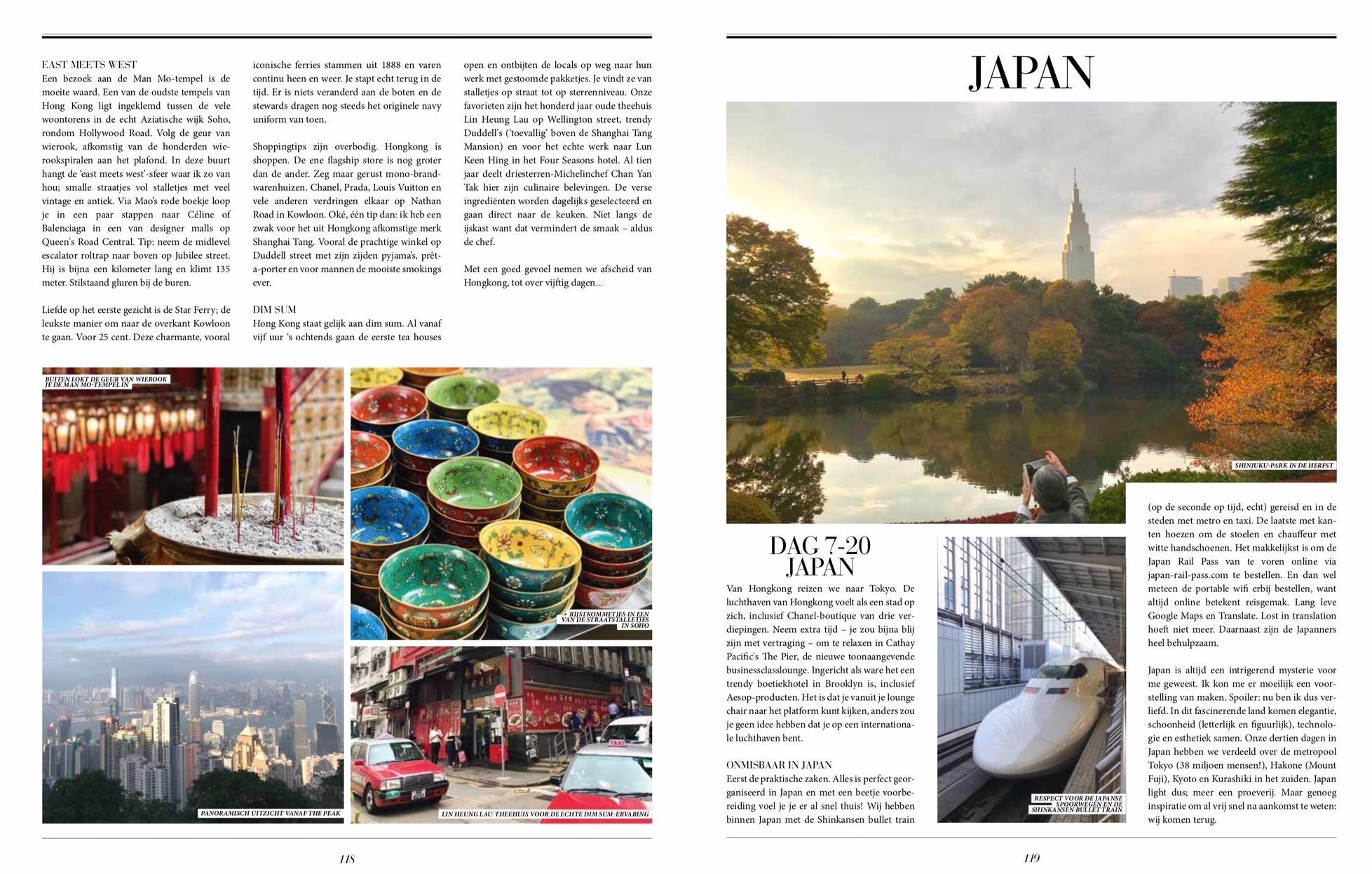 Luxury sabbatical Hong Kong Japan